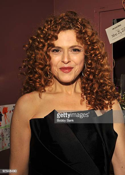 Bernadette Peters attends Bernadette Peters in concert for Broadway Barks after party at Blue Fin on November 9 2009 in New York City