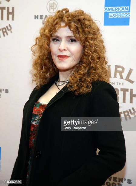 """Bernadette Peters attends """"Girl From The North Country"""" Broadway opening night at Belasco Theatre on March 05, 2020 in New York City."""