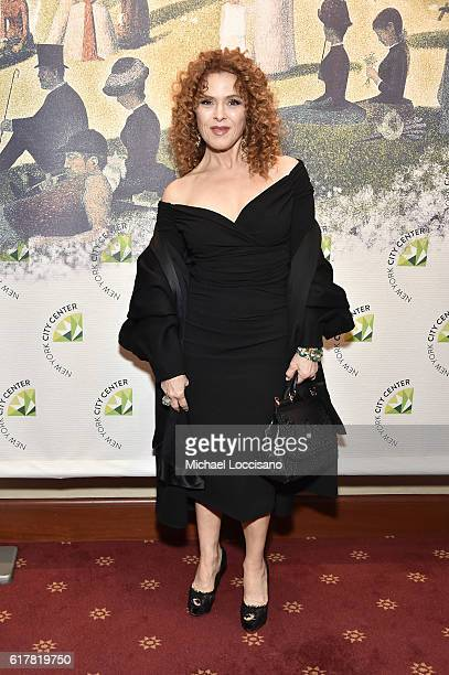 Bernadette Peters attends the 2016 New York City Center Gala at New York City Center on October 24 2016 in New York City