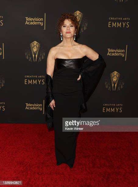 Bernadette Peters attends the 2021 Creative Arts Emmys at Microsoft Theater on September 12, 2021 in Los Angeles, California.