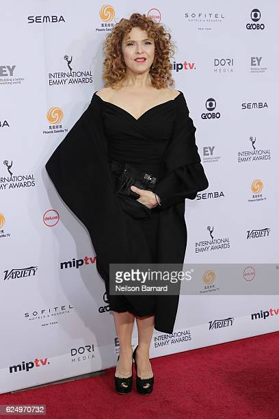 Bernadette Peters attends the 44th International Emmy Awards at New York Hilton on November 21 2016 in New York City