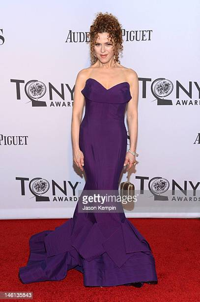 Bernadette Peters attends the 66th Annual Tony Awards at The Beacon Theatre on June 10 2012 in New York City