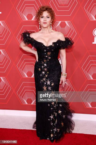 Bernadette Peters attends the 74th Annual Tony Awards at Winter Garden Theater on September 26, 2021 in New York City.