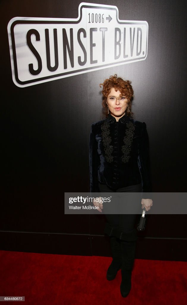 Bernadette Peters attends the Broadway Opening Night of Sunset Boulevard' at the Palace Theatre on February 9, 2017 in New York City.