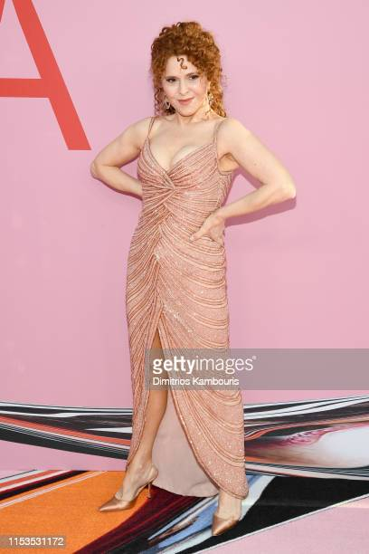 Bernadette Peters attends the CFDA Fashion Awards at the Brooklyn Museum of Art on June 03 2019 in New York City