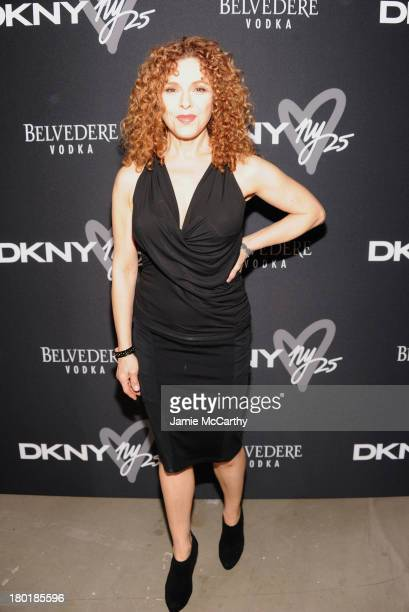 Bernadette Peters attends the #DKNY25 Birthday Bash on September 9 2013 in New York City
