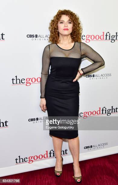 Bernadette Peters attends 'The Good Fight' world premiere at Jazz at Lincoln Center on February 8 2017 in New York City