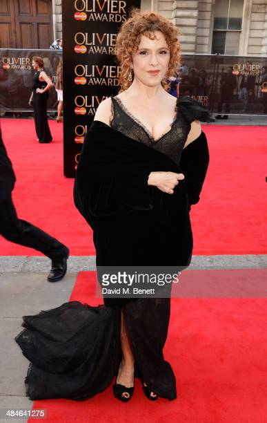 Bernadette Peters attends the Laurence Olivier Awards at The Royal Opera House on April 13 2014 in London England