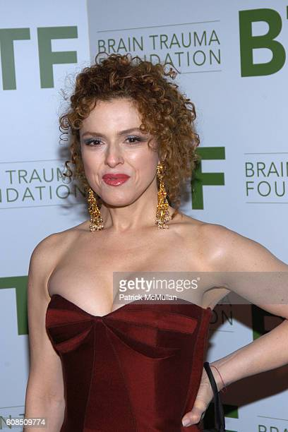 Bernadette Peters attends The Royal Rajasthan Gala Benefiting the Brain Trauma Foundation at The Pierre Hotel on March 7 2007 in New York City