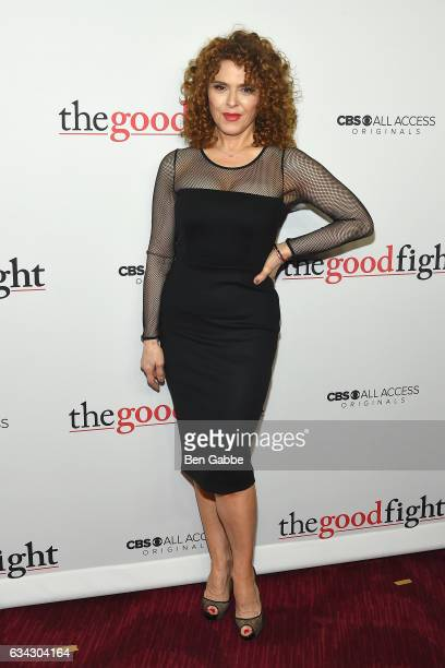 Bernadette Peters attends the The Good Fight World Premiere at Jazz at Lincoln Center on February 8 2017 in New York City