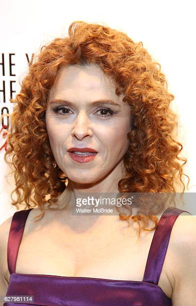 Bernadette Peters attends the York Theatre Company's 25th Oscar Hammerstein Award Gala honoring Joel Grey at The Asia Society on December 5 2016 in...