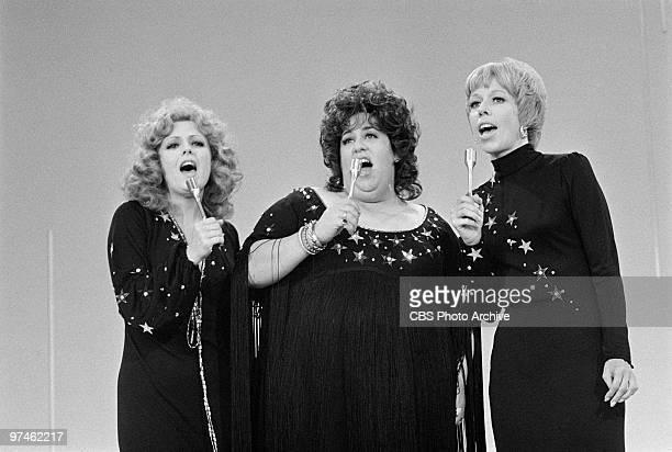 Bernadette Peters Cass Elliott and Carol Burnett perform on 'The Carol Burnett Show' August 27 1971