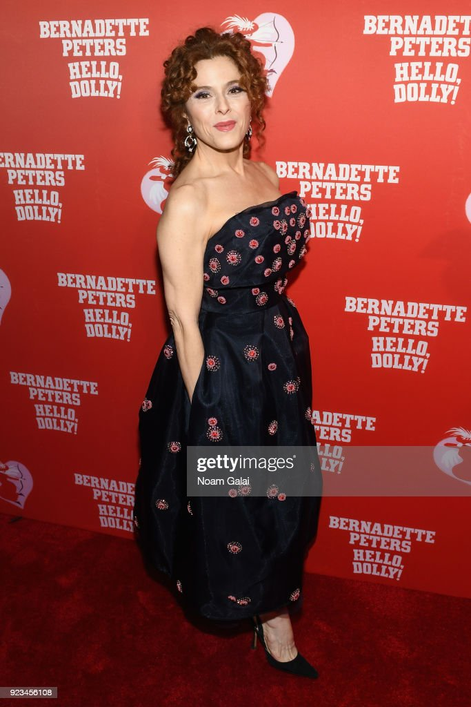 """Bernadette Peters' Opening Night of """"Hello, Dolly!"""" On Broadway"""