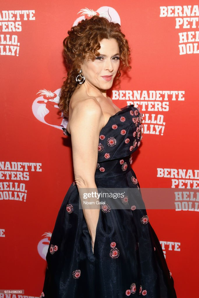 "Bernadette Peters' Opening Night of ""Hello, Dolly!"" On Broadway"