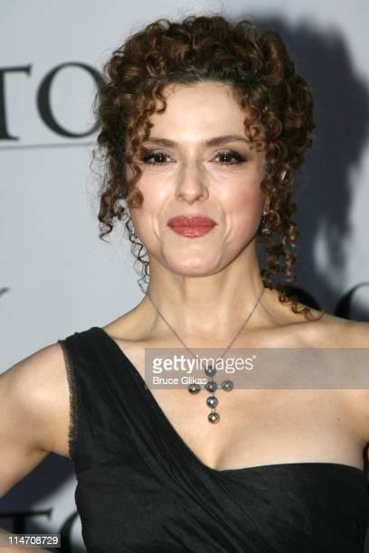 Bernadette Peters during 60th Annual Tony Awards - Arrivals at Radio City Music Hall in New York City, New York, United States.