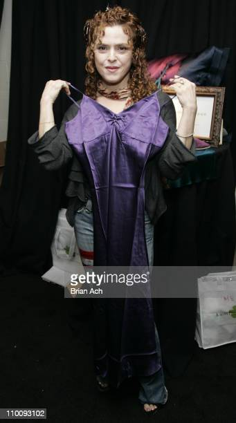 Bernadette Peters during 61st Annual Tony Awards On 3 Productions Gift Suite at Radio City Music Hall in New York City New York United States