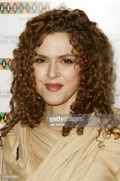 Bernadette Peters during 6th Annual Standup for Madeline and OCRF at Carolines on Broadway in New York City New York United States