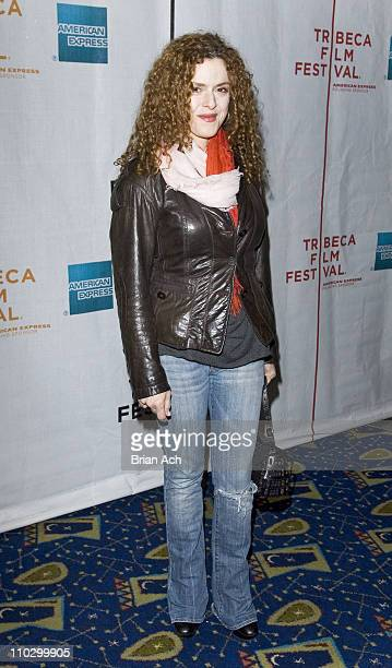 Bernadette Peters during 6th Annual Tribeca Film Festival 'The Education of Charlie Banks' Premiere Inside Arrivals at Clearview Cinemas Chelsea in...