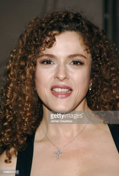 Bernadette Peters during Broadway's Celebrity Benefit for Hurricane Relief - Backstage at The Gershwin Theatre in New York City, New York, United...