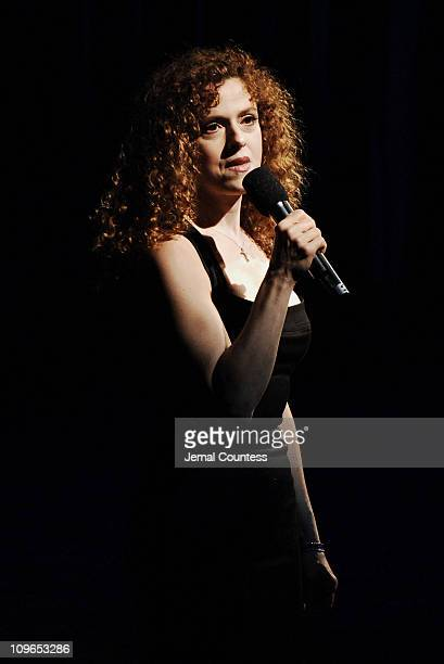 Bernadette Peters during Broadway's Celebrity Benefit for Hurricane Relief Show at The Gershwin Theatre in New York City New York United States