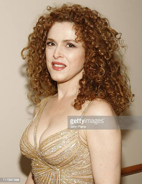 """Bernadette Peters during Carnival Center Grand Opening- """"Concert for Miami"""" - Backstage at Carnival Center for the Performing Arts in Miami, Florida,..."""