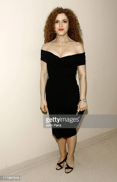 Bernadette Peters during Carnival Center Grand Opening Concert for Miami Backstage at Carnival Center for the Performing Arts in Miami Florida United...