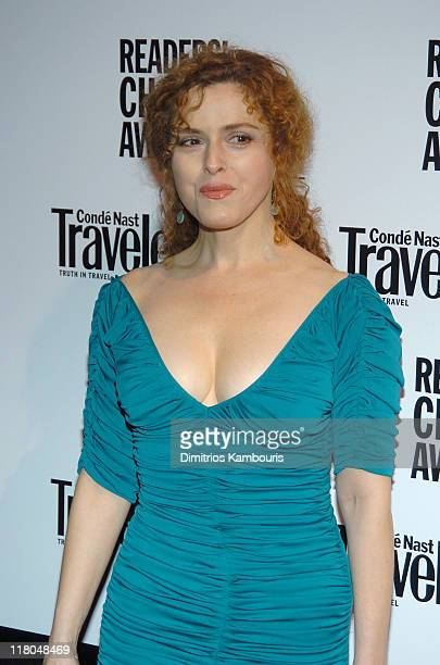 Bernadette Peters during Conde Nast Traveler 17th Annual Readers Choice Awards at Jazz Lincoln Center Time Warner Center in New York City New York...