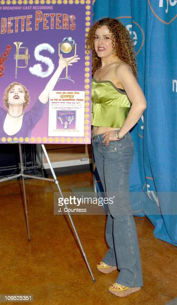 Bernadette Peters during 'Gypsy The Musical' Album Release Signing at FYE in New York City New York United States