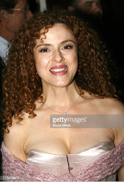 """Bernadette Peters during """"Martin Short: Fame Becomes Me"""" Broadway Opening Night - Arrivals at Bernard B. Jacobs Theatre in New York, New York, United..."""