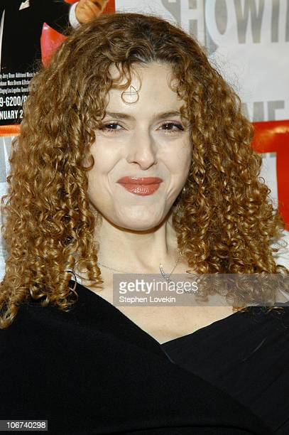"""Bernadette Peters during Opening Night of """"Mario Cantone - Laugh Whore"""" Presented on Broadway by Showtime - Arrivals at The Cort Theatre in New York..."""