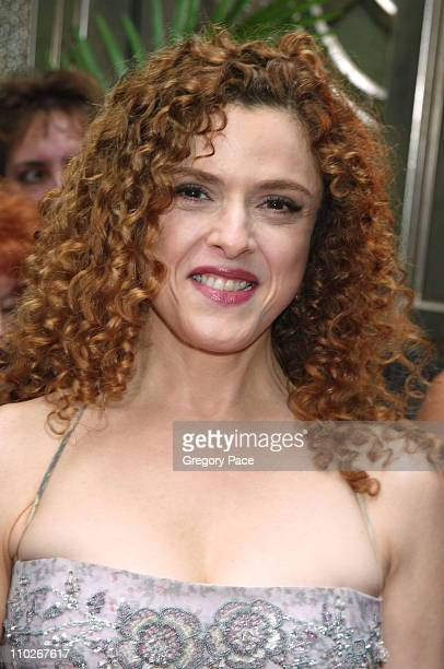 """Bernadette Peters during Regis Philbin and Kelly Ripa Host the Third Annual Relly Awards on """"Live with Regis and Kelly"""" at ABC-TV Studios in..."""