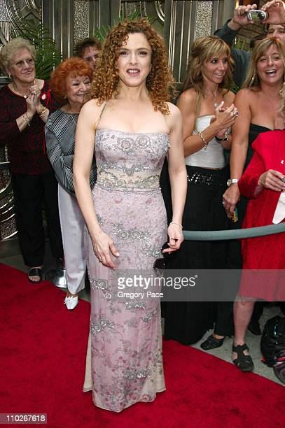 Bernadette Peters during Regis Philbin and Kelly Ripa Host the Third Annual Relly Awards on 'Live with Regis and Kelly' at ABCTV Studios in Manhattan...