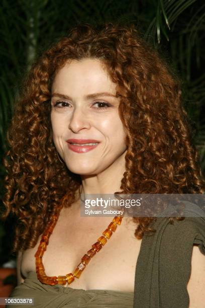 """Bernadette Peters during The Cinema Society and Donna Karan hosted an after party for """"Evening"""" at The Bowery Hotel at 335 Bowery in New York, New..."""