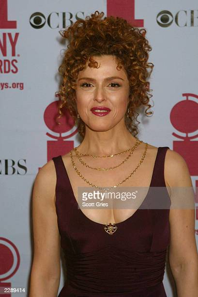 Bernadette Peters in the pressroom during the 56th Annual Tony Awards at Radio City Music Hall New York City June 2 2002 Photo by Scott Gries/Getty...
