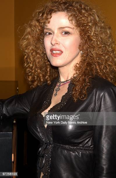 Bernadette Peters is on hand at Angus McIndoe restaurant on W 44th St where she celebrated the release of her new CD 'Bernadette Peters Loves Rodgers...