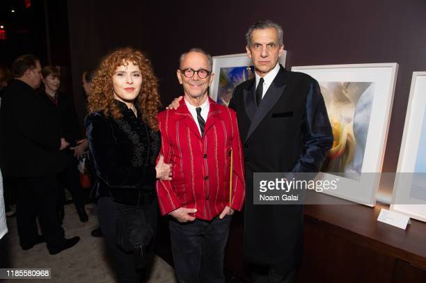 Bernadette Peters Joel Grey and Michael Rips attend The Art Students League's 2019 Gala at The Edition Hotel on November 04 2019 in New York City