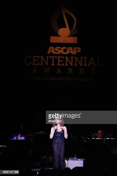 Bernadette Peters performs onstage at the ASCAP Centennial Awards at Waldorf Astoria Hotel on November 17 2014 in New York City