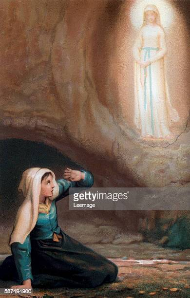 Bernadette Soubirous a 14 year old girl had visions of the Virgin Mary in 1858