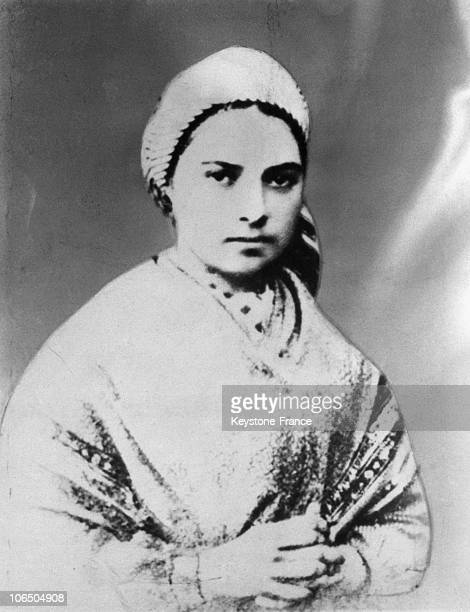Bernadette Soubirous Around 1865