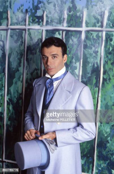 Bernard Alane pour la pièce 'Si jamais je te pince ' d'Eugène Labiche à Paris en juin 1988 France