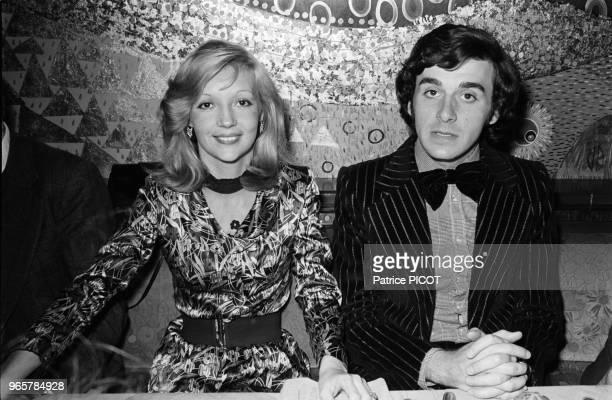 Bernard Alane with Caroline Cellier
