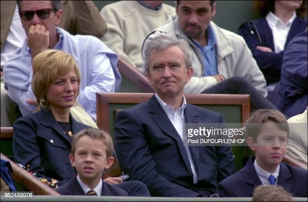 Bernard Arnault and wife