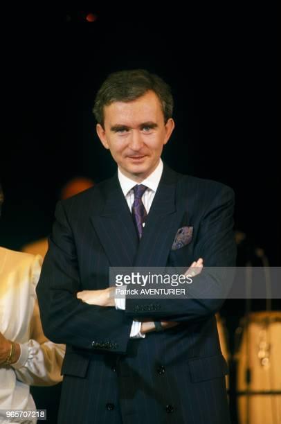 Bernard Arnault At Dior Party Paris February 13 1987