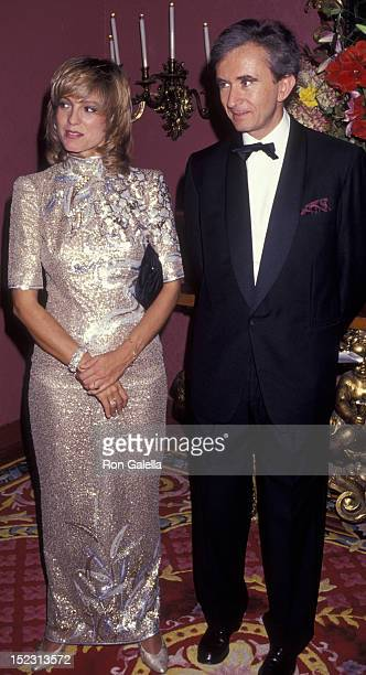 Bernard Arnault attends CC Person Awards Dinner Gala on October 17 1991 at the Plaza Hotel in New York City