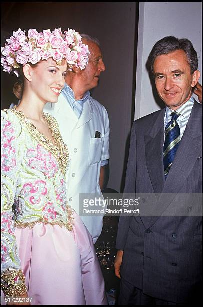 Bernard Arnault Givenchy Haute Couture fashion show collection fall winter 19921993