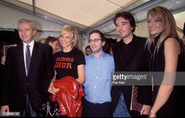 Bernard Arnault Helene Arnault Marc Jacobs and the Arnault family