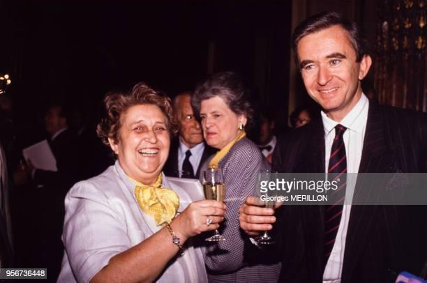 Bernard Arnault le 9 juin 1989 à Paris France