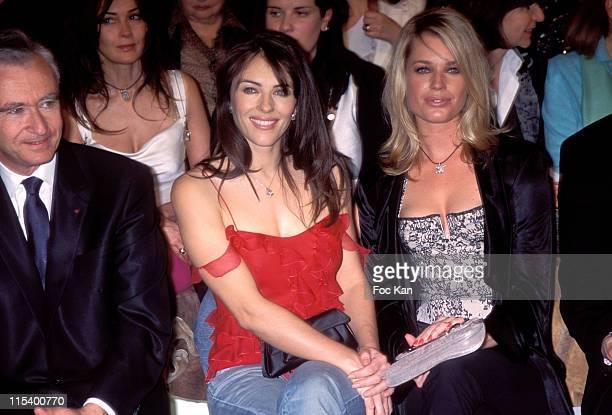 Bernard Arnault Liz Hurley and Rebecca Romijn Stamos