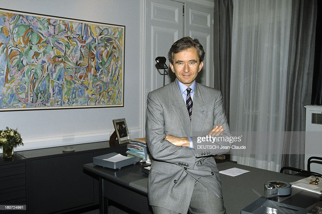 Bernard Arnault, Lvmh Ceo : News Photo