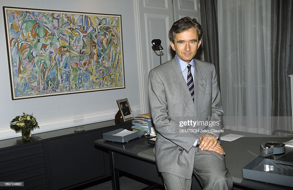 Bernard Arnault, Lvmh Ceo : News Photo